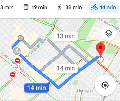 Recorrido en bici por Google Maps | Integrar on